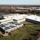 Birds Eye View of Solar Installation at Contec Headquarters